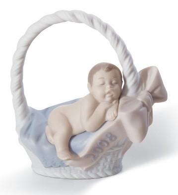 Born In 2008 (boy) Lladro Figurine