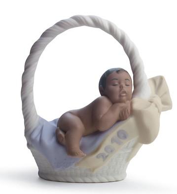 Born In 2010 Black Legacy (boy) Lladro Figurine