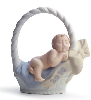 Born In 2010 (boy) Lladro Figurine