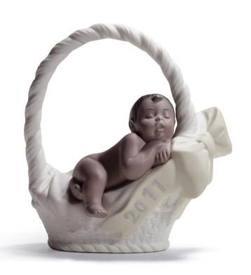 Born In 2011 Black Legacy (girl) Lladro Figurine