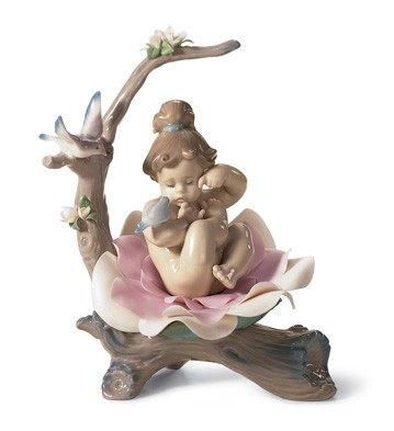 Born In Springtime Lladro Figurine