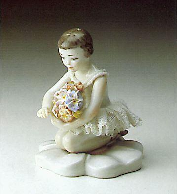 Bouquet Ballerina Lladro Figurine