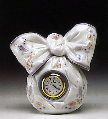 Bow Clock Lladro Figurine