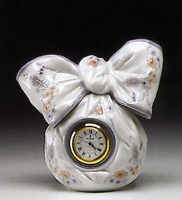 Bow Clock Lladro Figurine