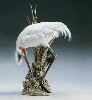 Bowing Crane Lladro Figurine