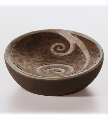 Bowl Pulse Of Africa Lladro Figurine