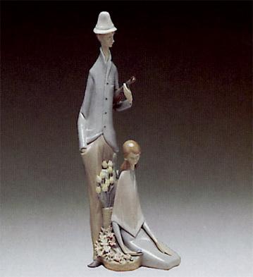 Boy And Girl Lladro Figurine