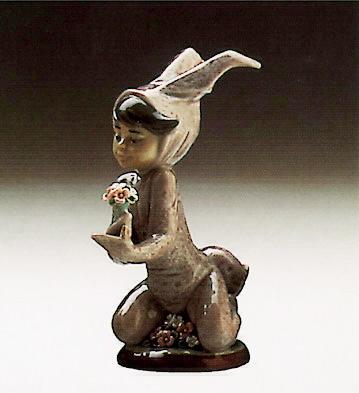 Boy And His Bunny Lladro Figurine
