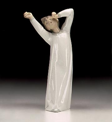 Boy Awaking Lladro Figurine