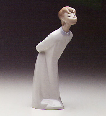 Boy Blowing Lladro Figurine