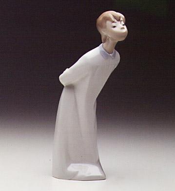Boy Blowing Lladro Figurine