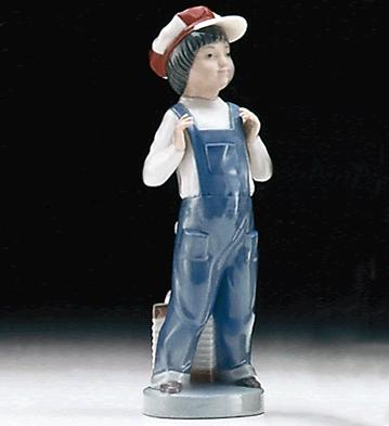 Boy From Madrid Lladro Figurine