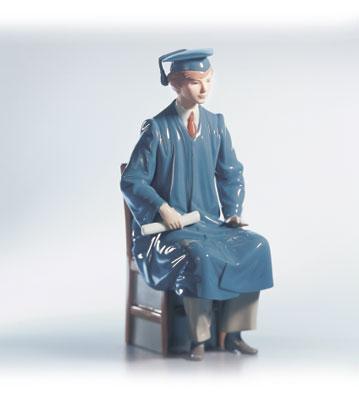 Boy Graduate Lladro Figurine