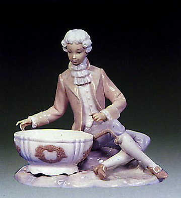 Boy Jewelry Dish Lladro Figurine
