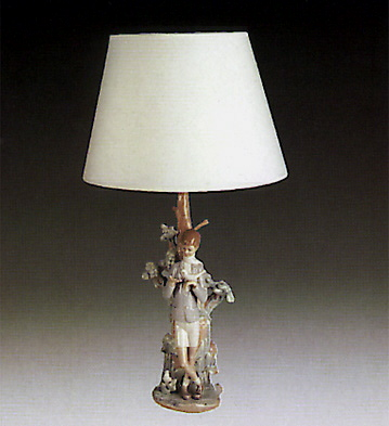 Boy (lamp) Lladro Figurine
