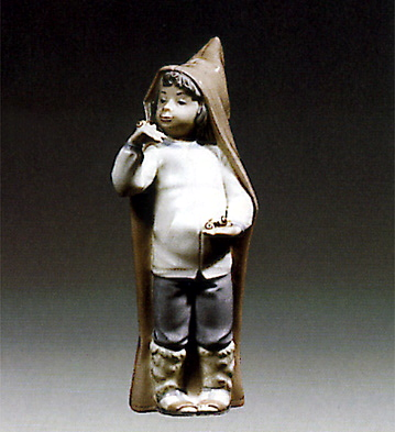 Boy W/ Snails Lladro Figurine