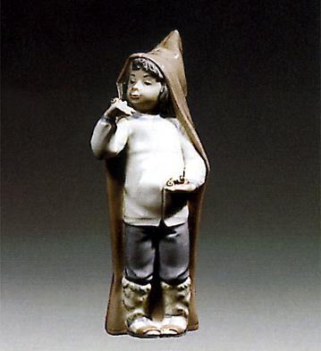 Boy W/ Snails Lladro Figurine