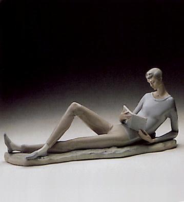 Boy With Book Lladro Figurine