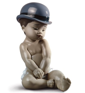Boy With Bowler Hat Lladro Figurine