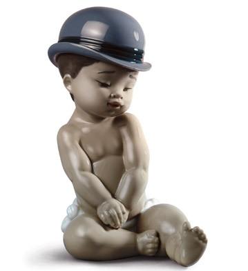 Boy With Bowler Hat Lladro Figurine