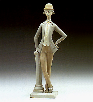 Boy With Bowler Lladro Figurine