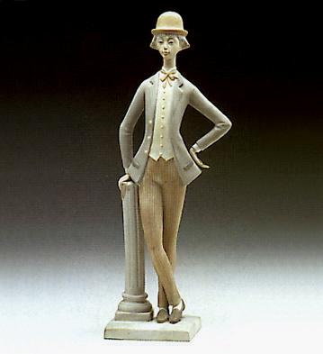 Boy With Bowler Lladro Figurine