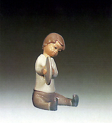Boy With Cymbal Lladro Figurine