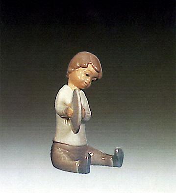 Boy With Cymbal Lladro Figurine