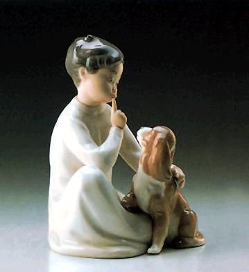 Boy With Dog Lladro Figurine