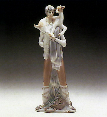 Boy With Goat Lladro Figurine