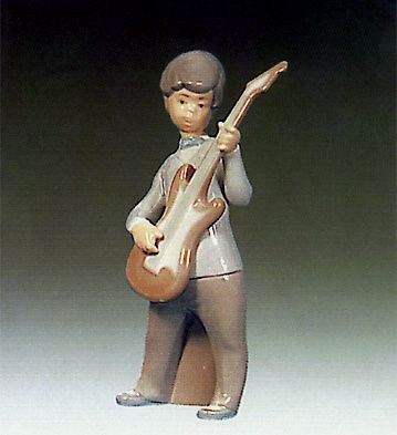 Boy With Guitar Lladro Figurine