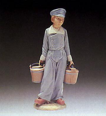 Boy With Pails Lladro Figurine