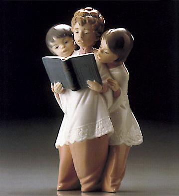 Boys Choir Lladro Figurine