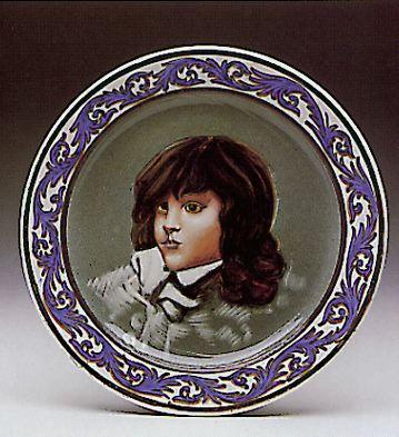 Boy's Portrait Lladro Figurine