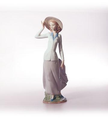 Breezy Afternoon Lladro Figurine