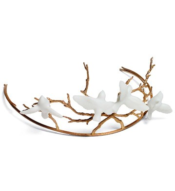 Bridal Tiara Magic Forest Lladro Figurine