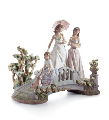 Bridge Of Dreams Lladro Figurine
