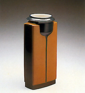 Brown Compact Vase Lladro Figurine