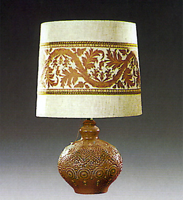 Brown Full Moon Lamp Lladro Figurine
