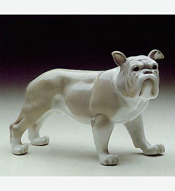 Bulldog Lladro Figurine