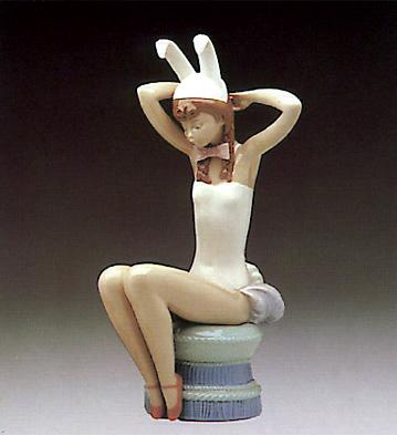 Bunny Girl Lladro Figurine