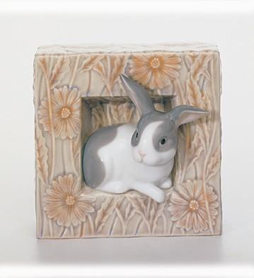 Bunny - Natural Frames Lladro Figurine