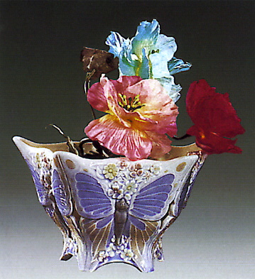Butterfly Center Piece Lladro Figurine