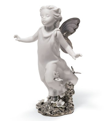 Butterfly Wings (re-deco) Lladro Figurine
