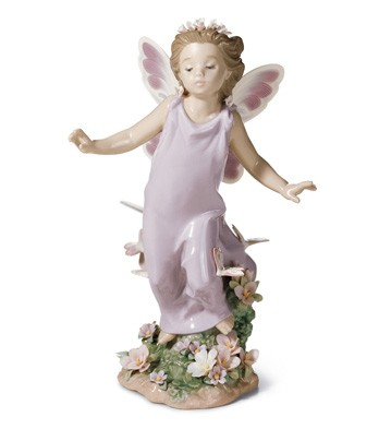 Butterfly Wings Lladro Figurine