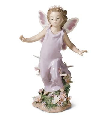 Butterfly Wings Lladro Figurine