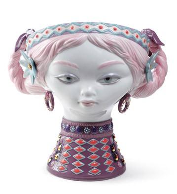 Byzantine Head (color) Lladro Figurine