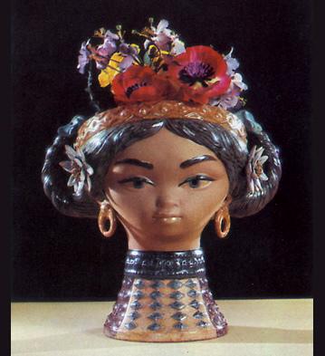 Byzantine Head Lladro Figurine