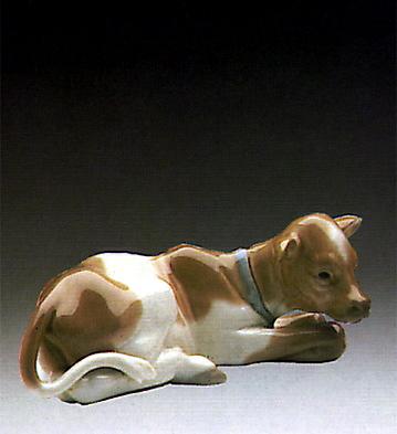 Calfskin Lladro Figurine