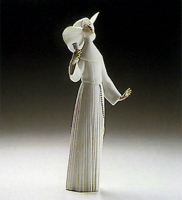 Call To Prayer-white Lladro Figurine